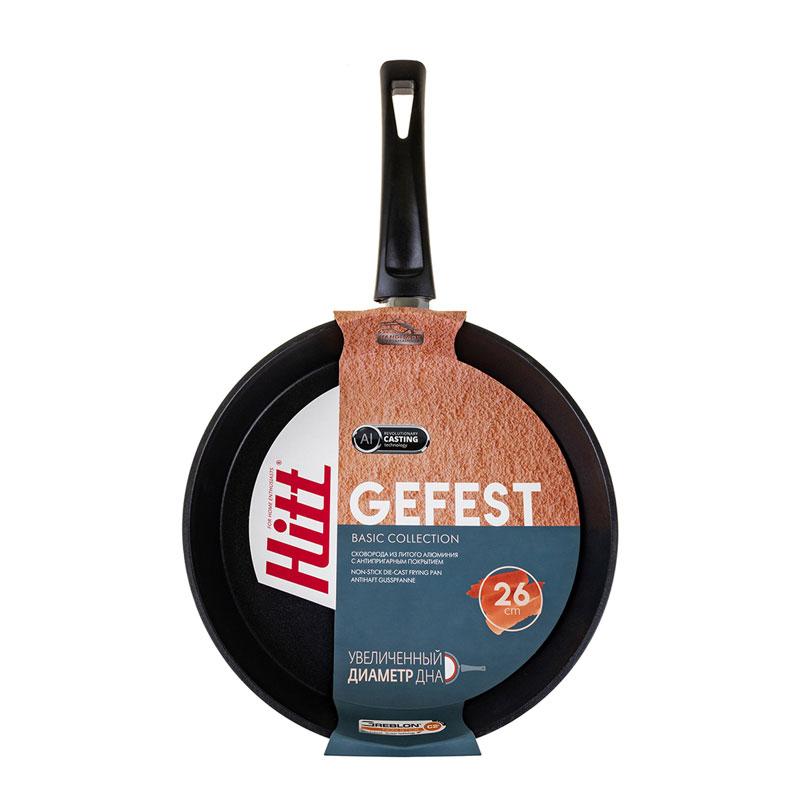 Сковорода 26 см Gefest Hitt