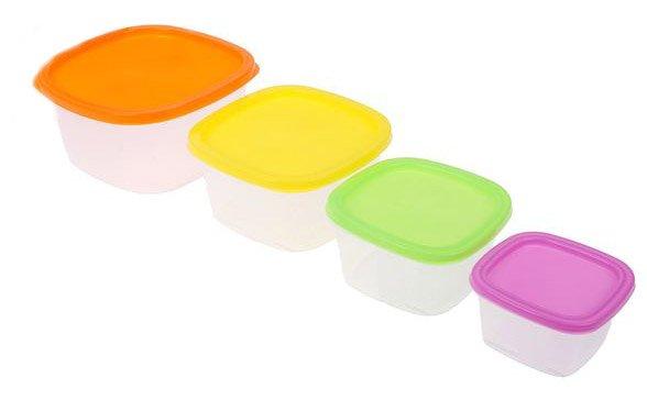 Набор контейнеров Rainbow Hitt 4 предмета