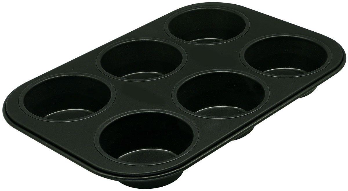 Форма для выпечки 27 x 19 x 3 см Hitt для кексов 6 ячеек