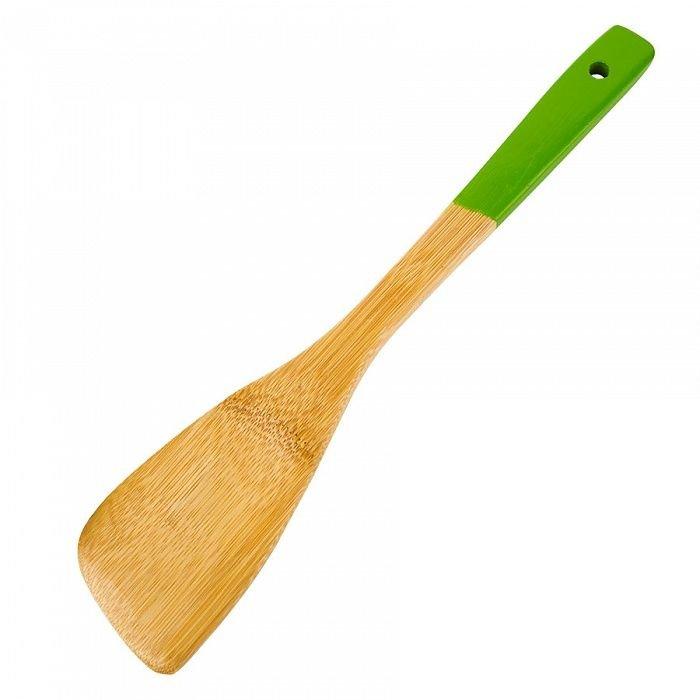 Лопатка 30 cм Hitt окрашенная ручка бамбук