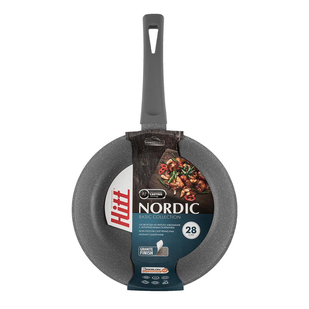 Сковорода 28 см Nordic Hitt