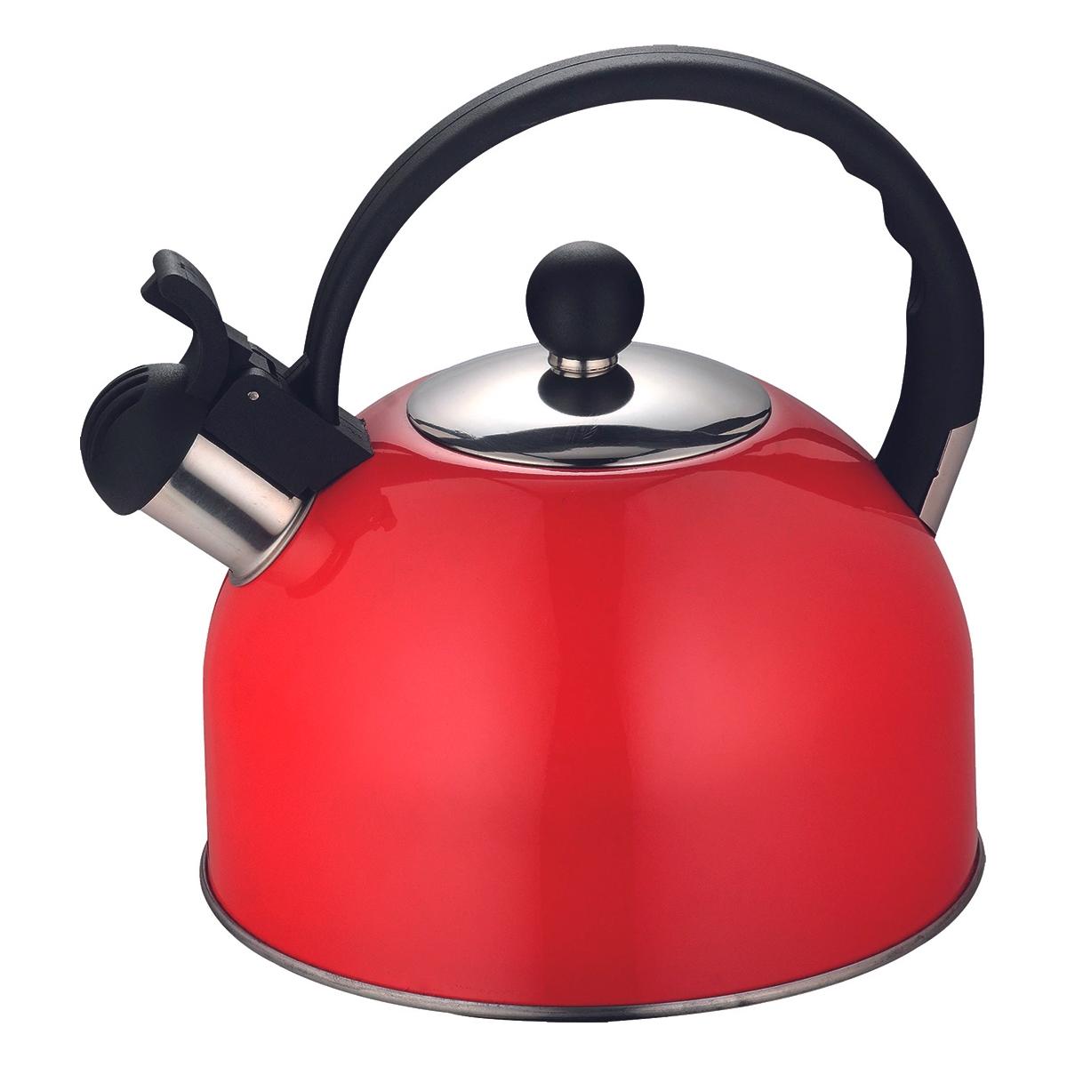 Чайник 2,5 л Colorfest Hitt сочный гранат