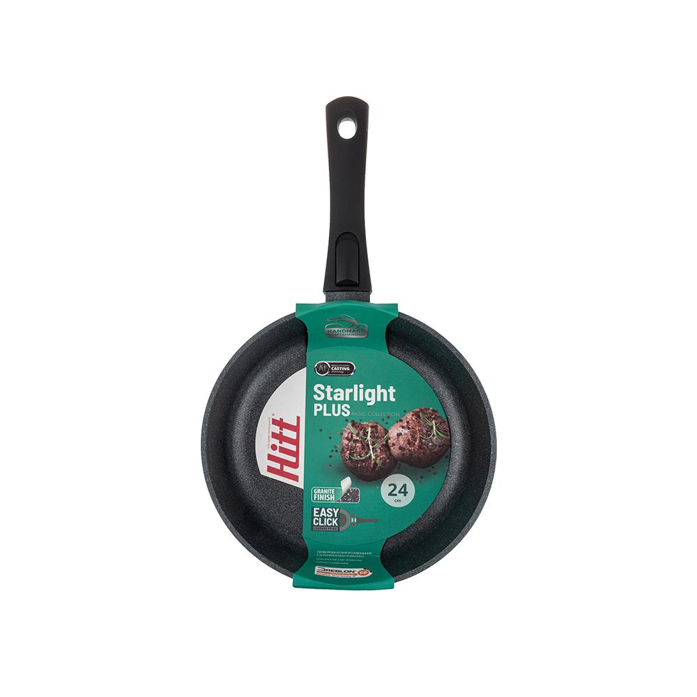 Сковорода 24 см Starlight Plus Hitt