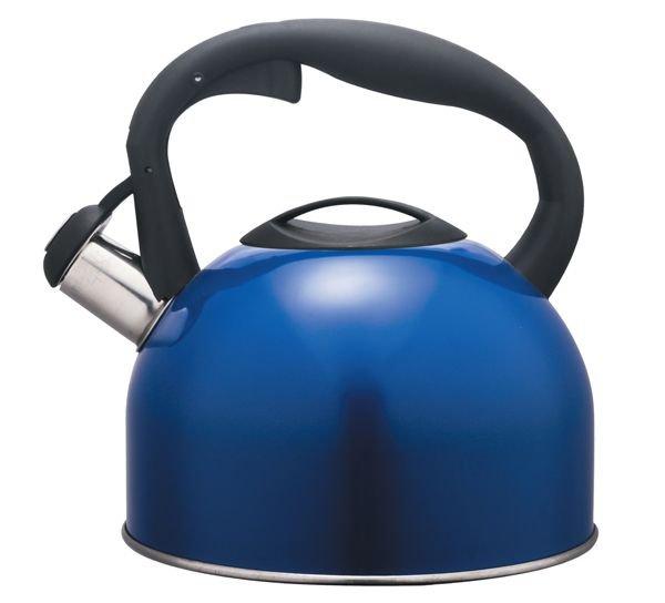 Чайник 2,5 л Gamma Hitt со свистком и с крышкой синий