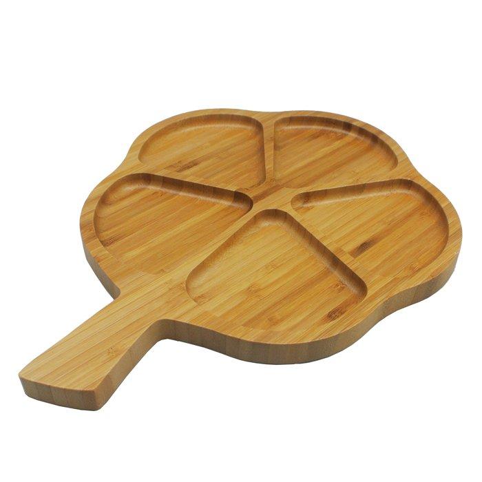 Блюдо 33 х 25,7 см Цветок Hitt сервировочное бамбук