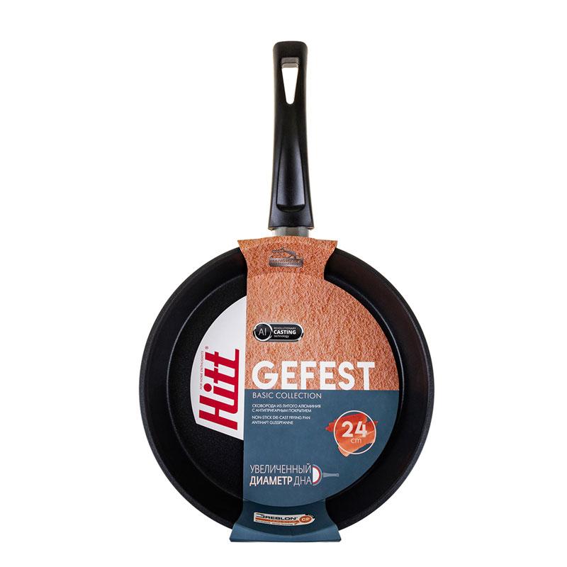 Сковорода 24 см Gefest Hitt